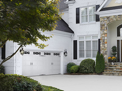 carriage style garage door