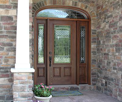 fiberglass entry door