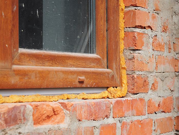 sealing gaps around windows