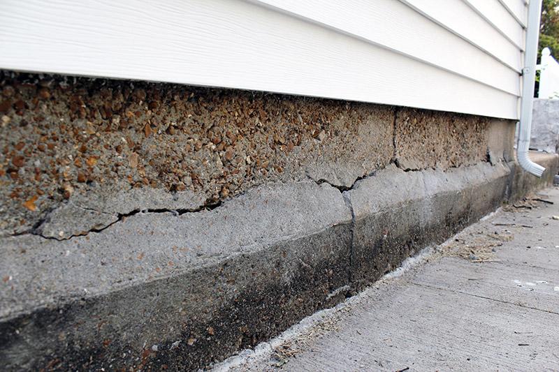 garage door leaks damage